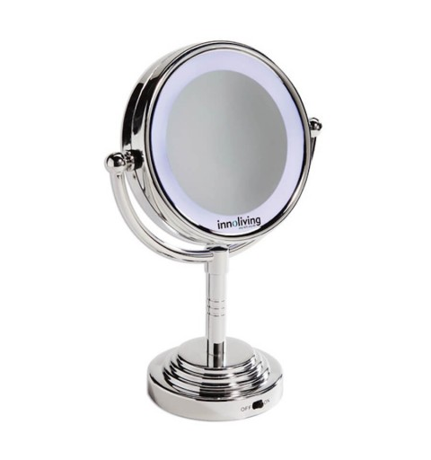 Oglinda luminoasa fata-verso pentru machiaj perfect INN-029