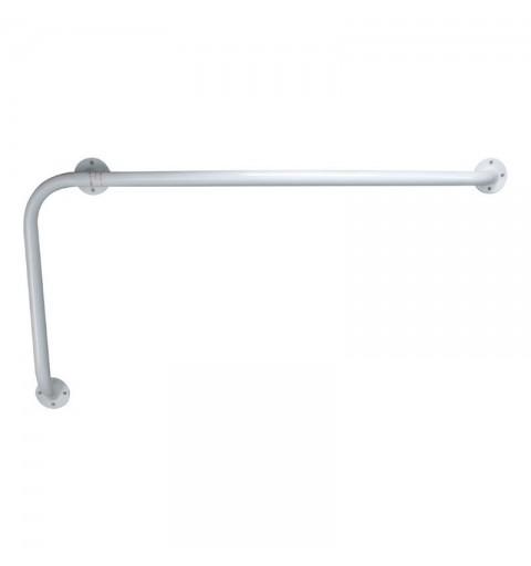 Maner de siguranta pentru baie, cu terminatie pe stanga, 80x40 cm - RS956
