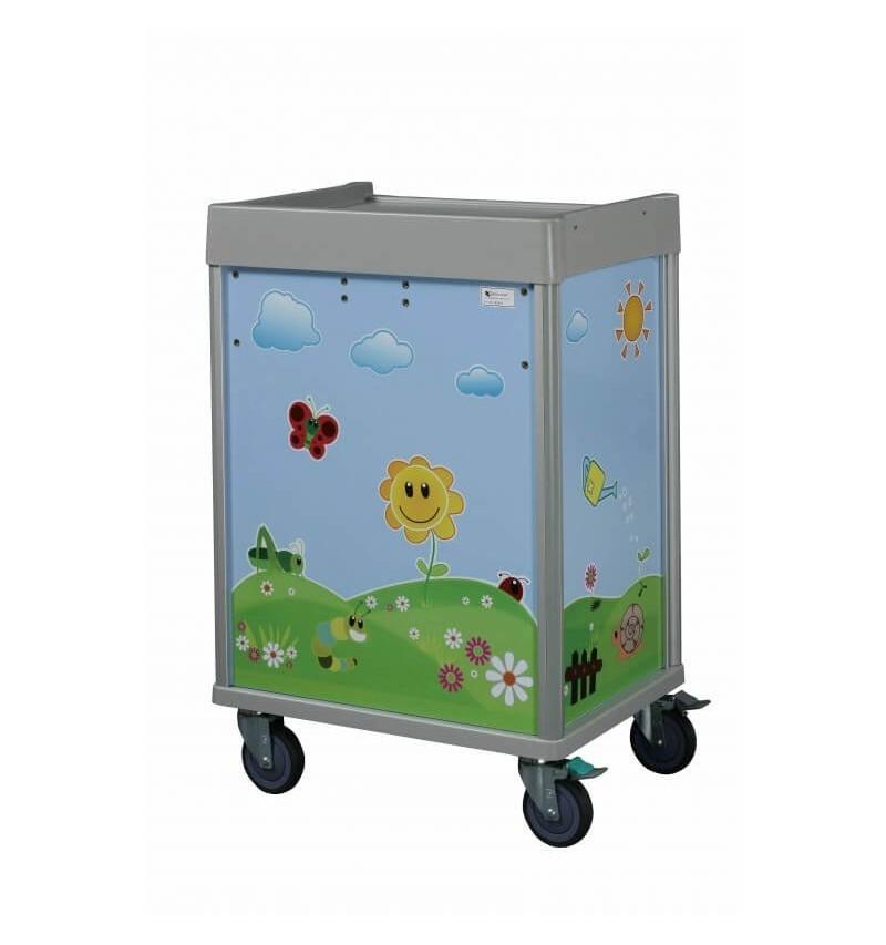 Troliu urgente pediatrie cu 5 sertare - MX31EMG