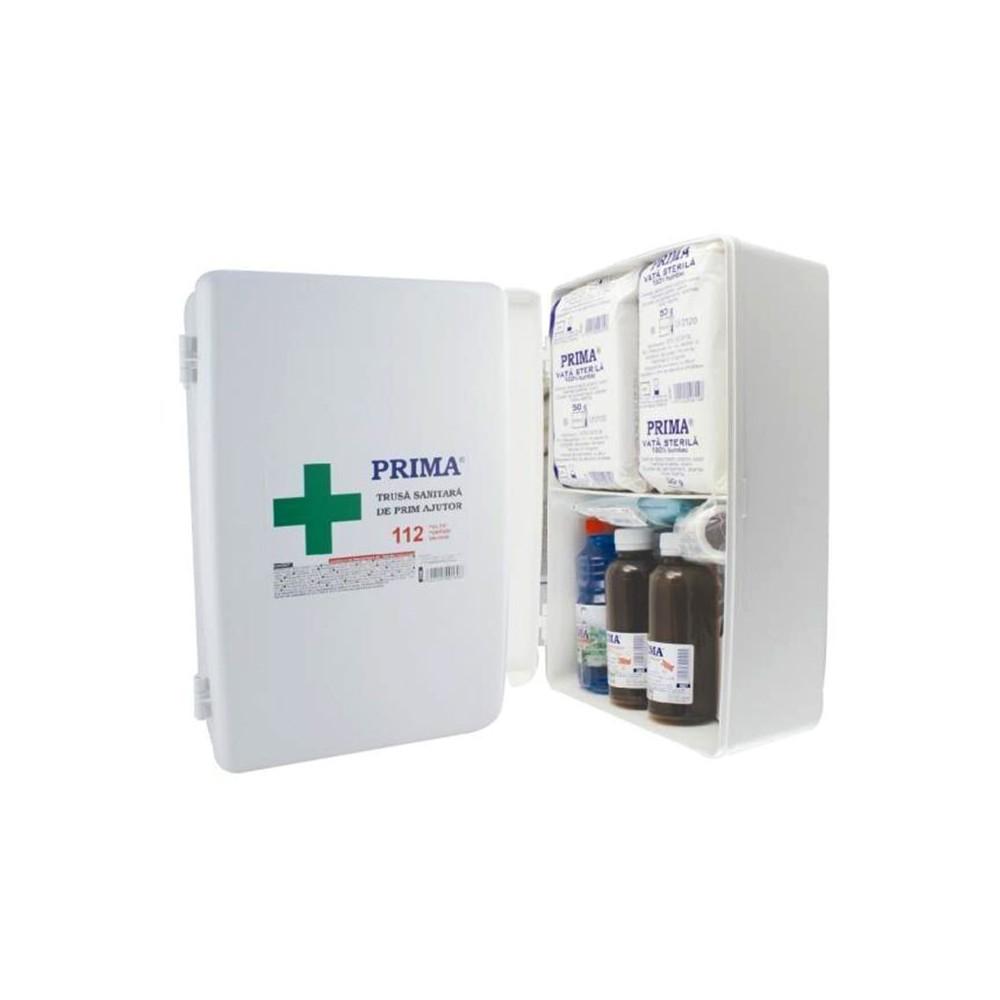 Trusa sanitara de prim ajutor cu fixare pe perete - 0599-FIX