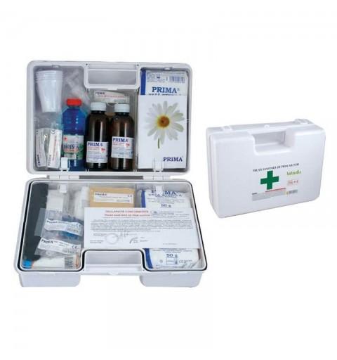 Trusa sanitara de prim ajutor portabila cu maner - 0599-DET