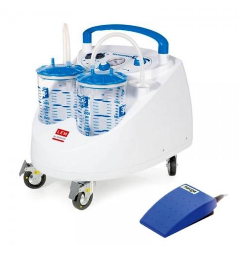 Aspirator chirurgical mobil ASPIMED 4.1 2 litri cu pedala - LTA470