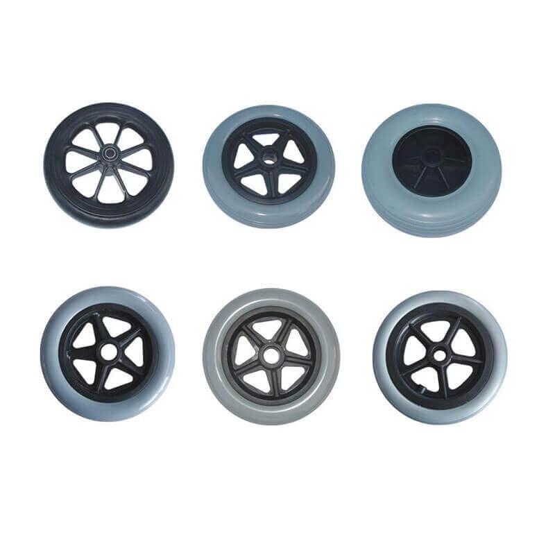 Roti spate pneumatice, diametru 30 cm, pentru carucioare cu rotile