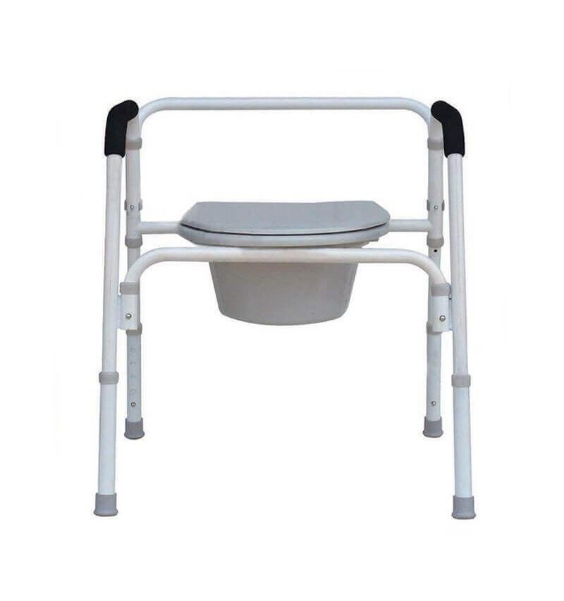 Scaun WC de camera 4 in 1, pliabil - YJ-7100D