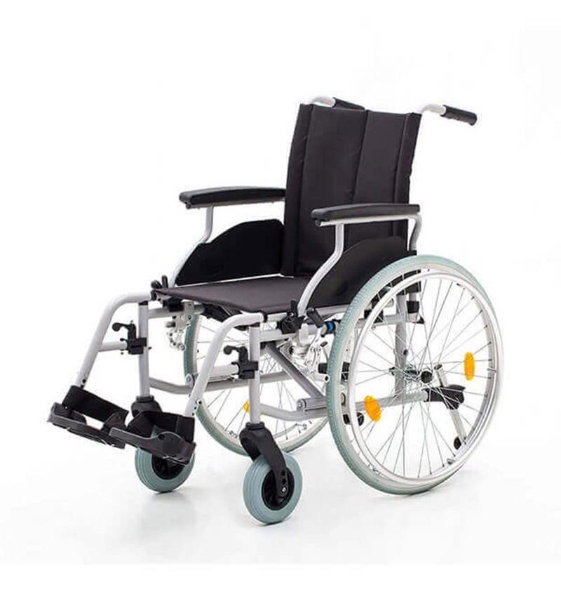 Carucior cu rotile, transport pacienti, cadru din aluminiu - YJ-AL001