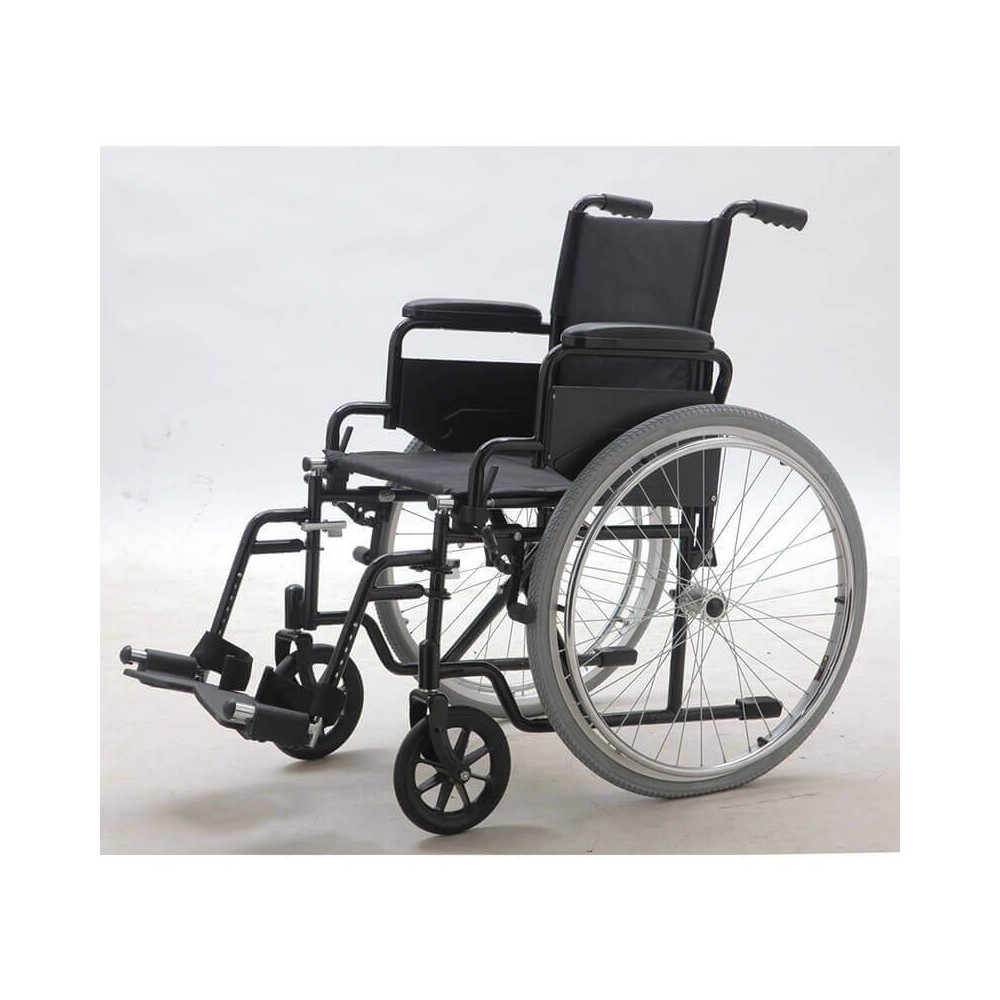 Carucior cu rotile, transport pacienti, cu antrenare manuala - YJ-005L