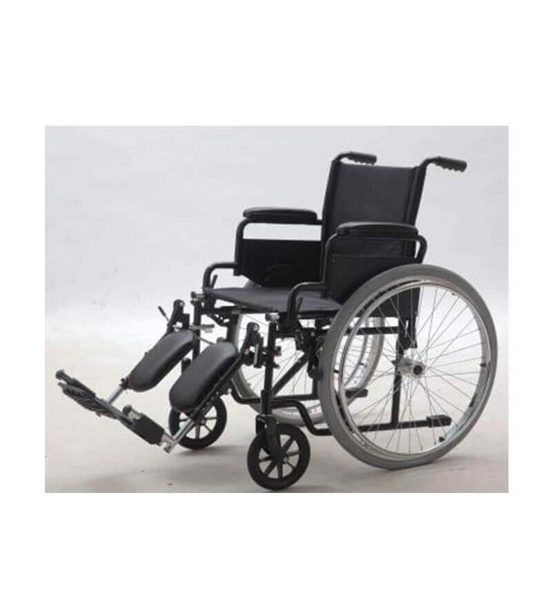Carucior cu rotile pliabil, transport pacienti, cu antrenare manuala - YJ-005L-ELR