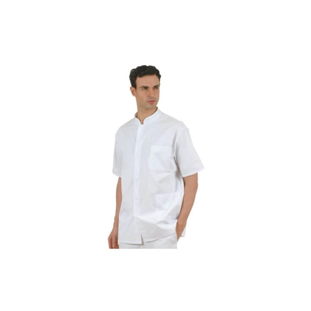 Bluza barbati cu guler tunica maneca scurta/lunga - CM008