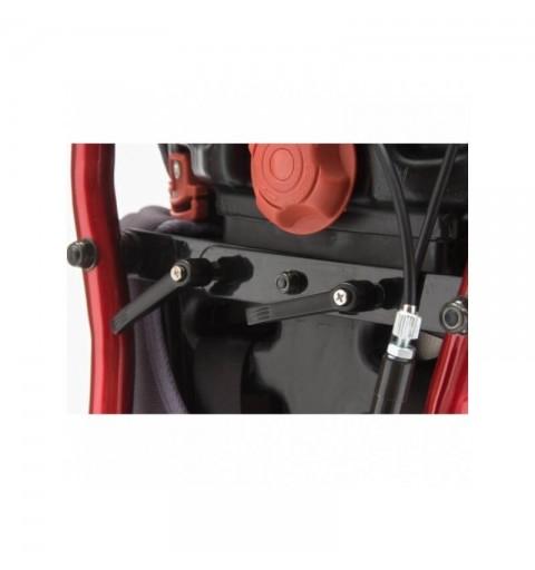 Carucior cu rotile pliabil, actionare manuala, structura de otel vopsit - FS204BJ