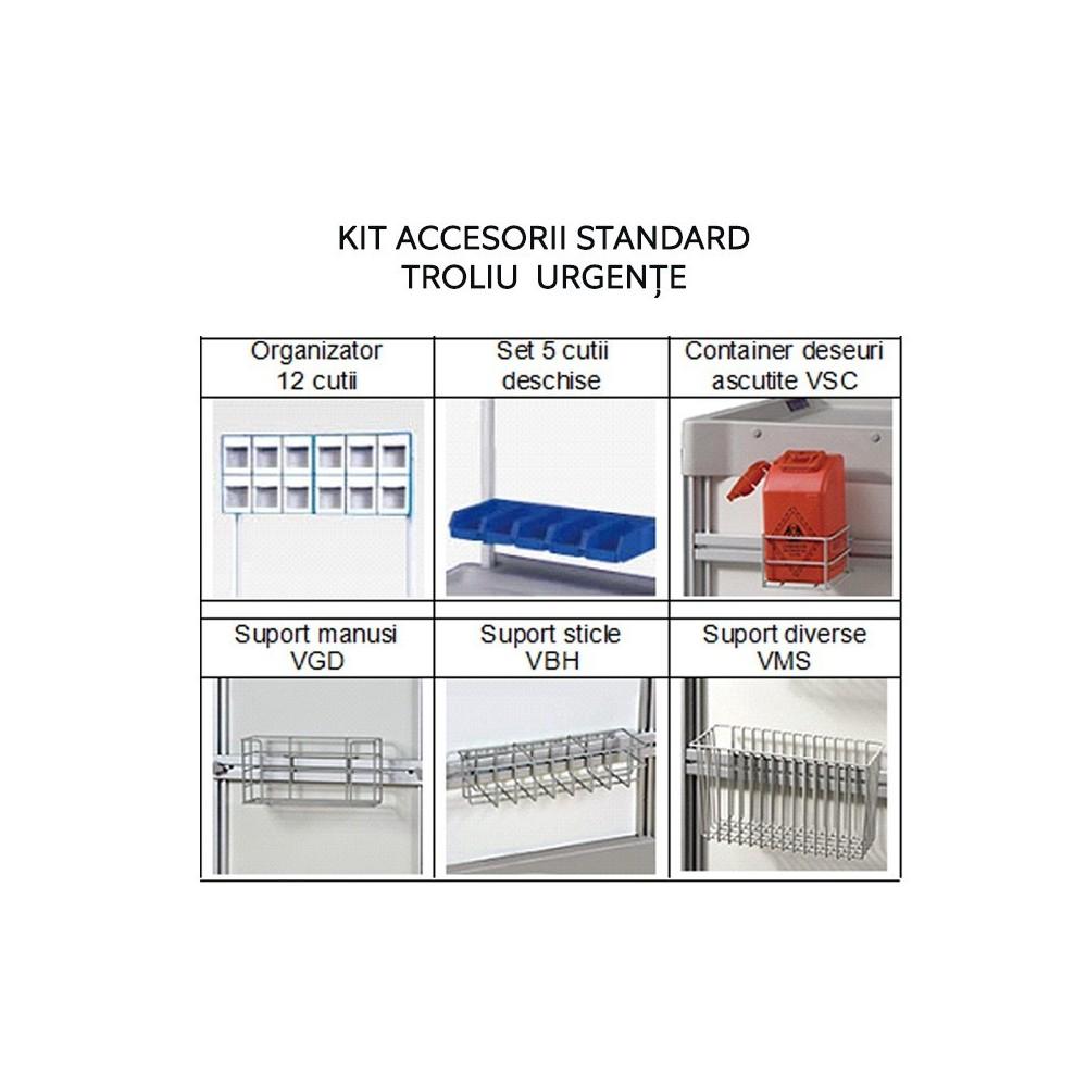 kit accesorii standard pentru trolii urgente