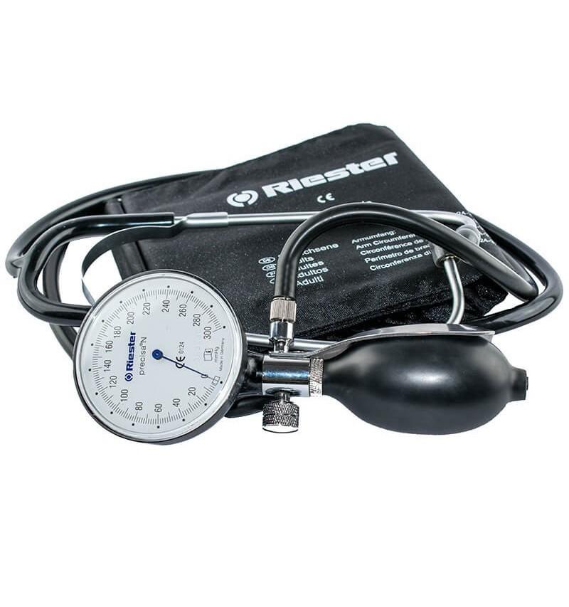 Tensiometru mecanic Riester precisa N cu stetoscop inclus si manseta obezi - RIE1447-142