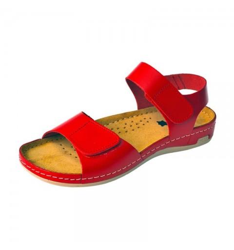 Sandale dama, de vara, din piele, Leon 963