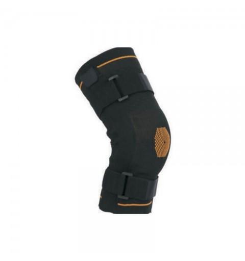 Genunchiera tricot elastic cu suport ligamente insertii atele metalice  - ARK9104