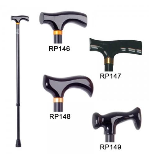 Baston reglabil din aluminiu, maner diferite forme - RP149