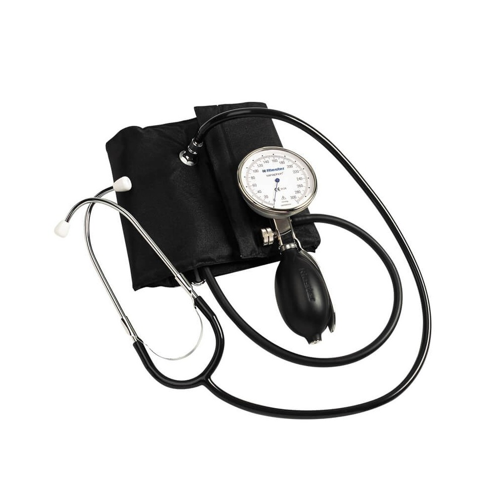 Tensiometru mecanic Riester sanaphon cu stetoscop inclus - RIE1442-141