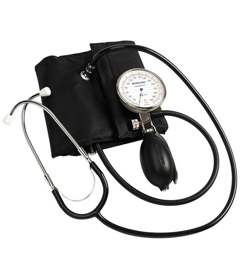 Tensiometru mecanic Riester sanaphon cu stetoscop inclus pentru obezi - RIE1442-142