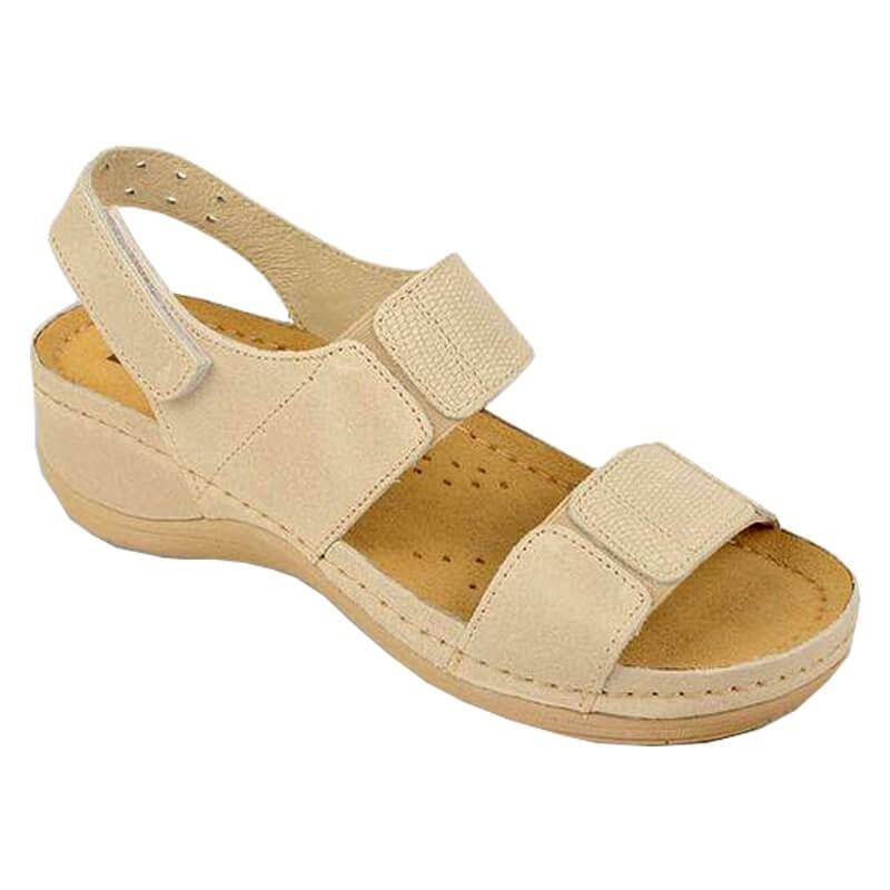 Sandale dama, din piele, de vara, Leon 945