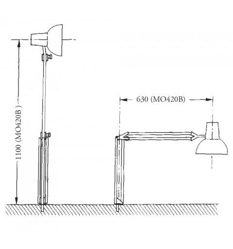 Lampa de examinare Moretti MO423
