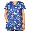 Bluza medicala imprimata - Lotus