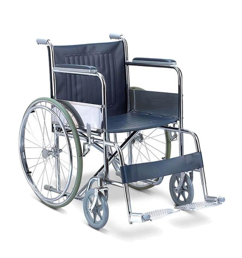 Carucior cu rotile, transport pacienti, actionare manuala, - FS809-46/27709