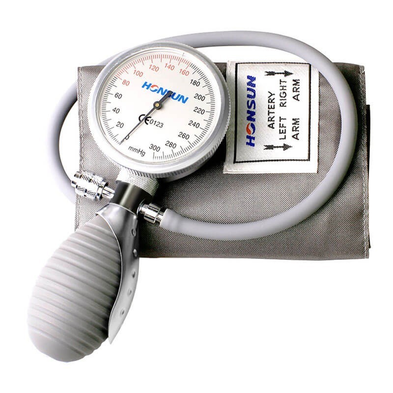 Tensiometru mecanic cromat, cu manometru la para, Elecson HS201Q1