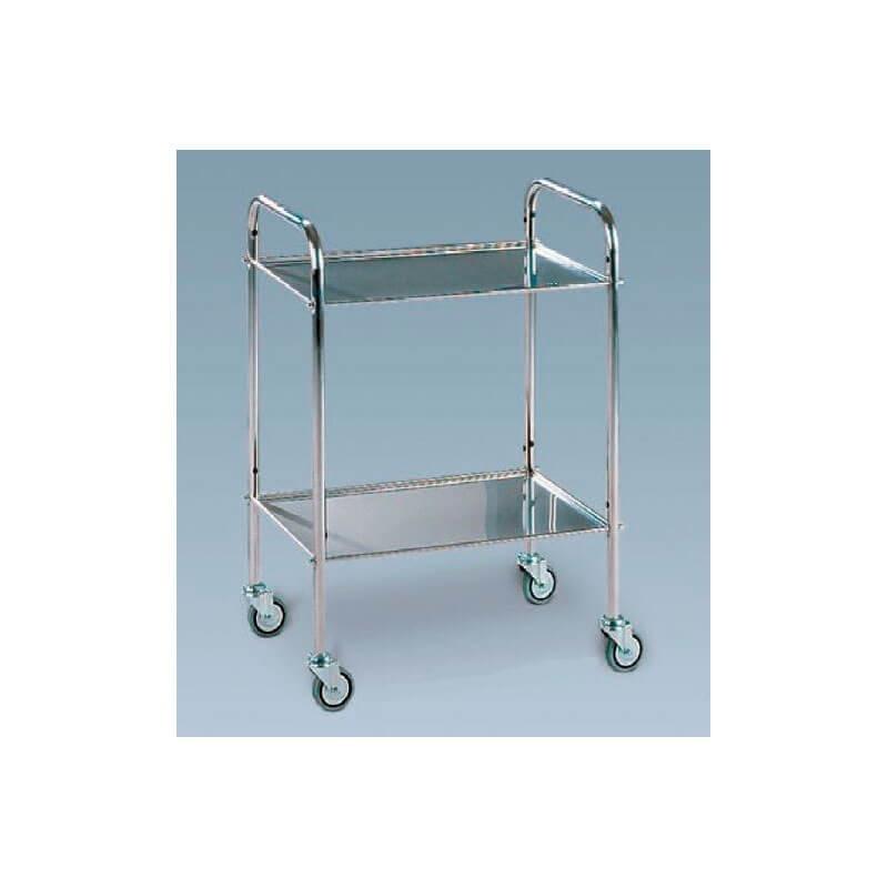 Masuta instrumentar cadru de aluminiu cu 2/3 rafturi