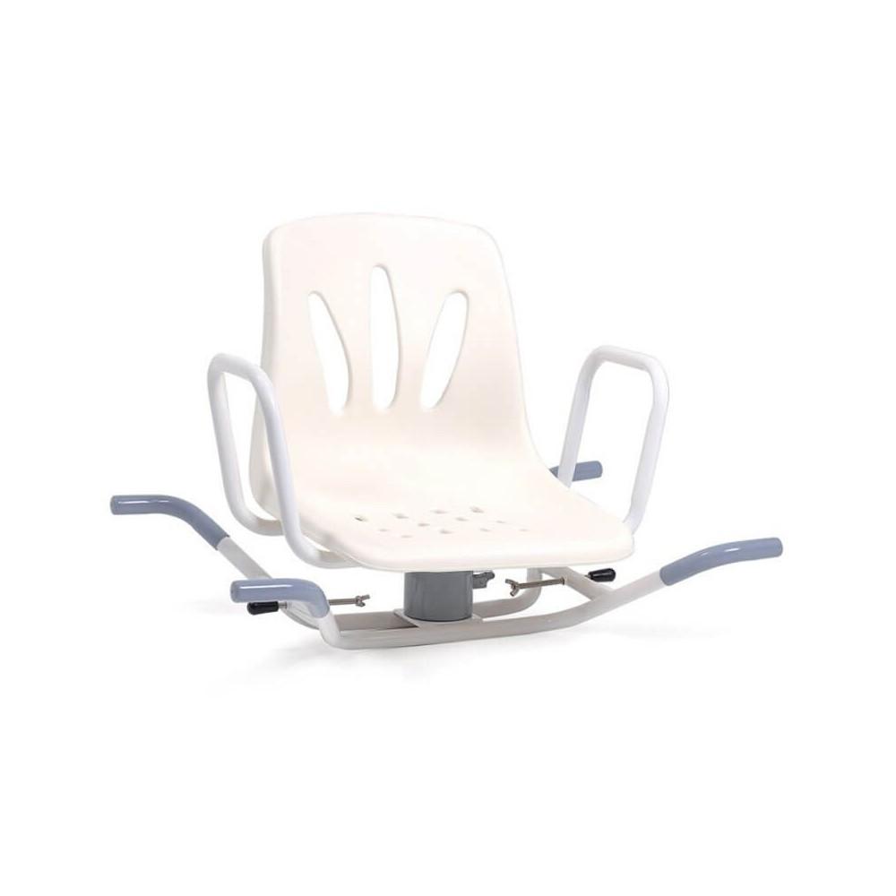 Scaun rotativ de baie din otel vopsit - RS936