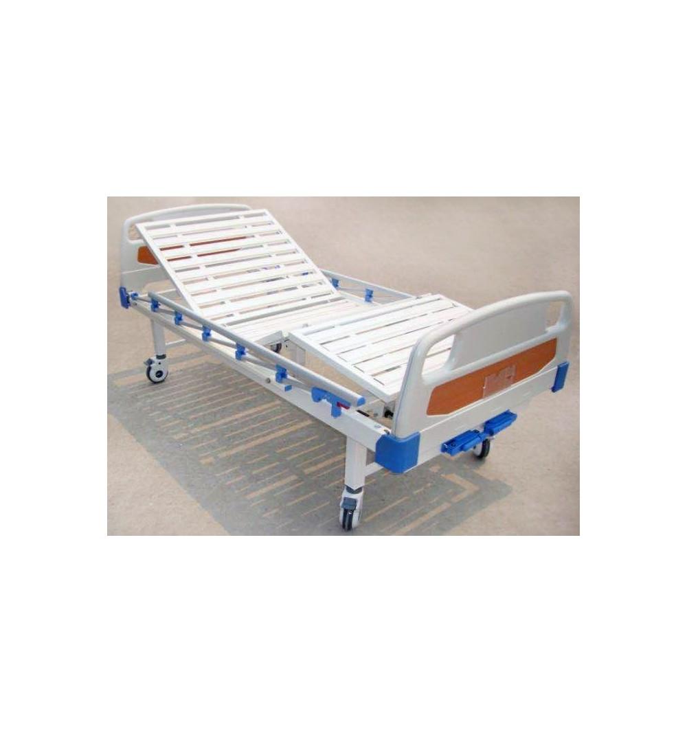 Pat de spital mecanic cu 2 manivele - XHS20E-C