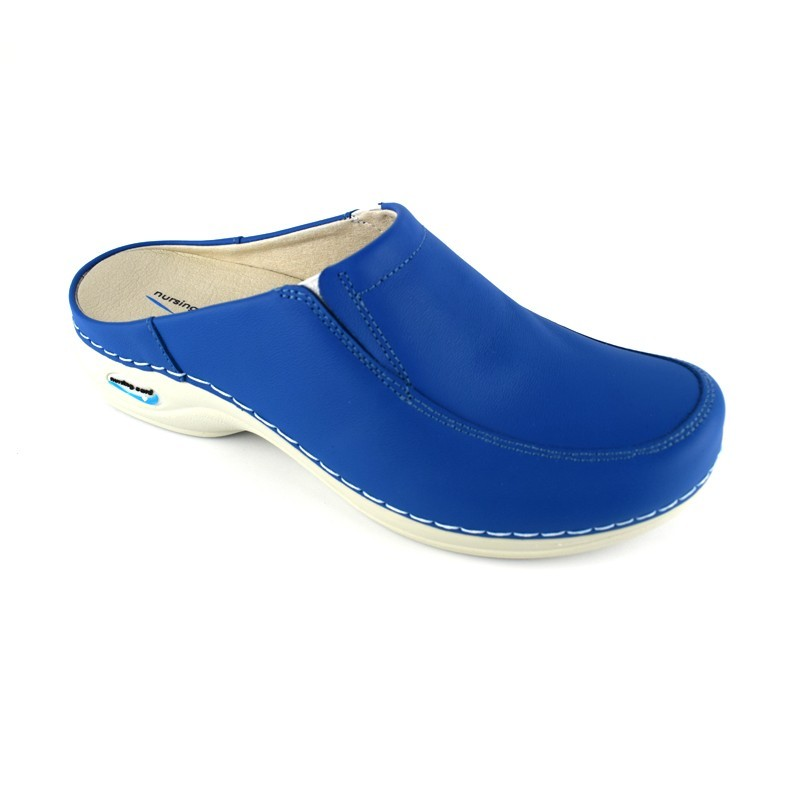 Saboti medicali Nursingcare Wash'Go Paris, albastru electric