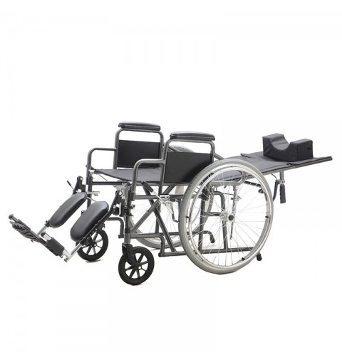 Carucior cu rotile, transport pacienti, cu tetiera - YJ-011E