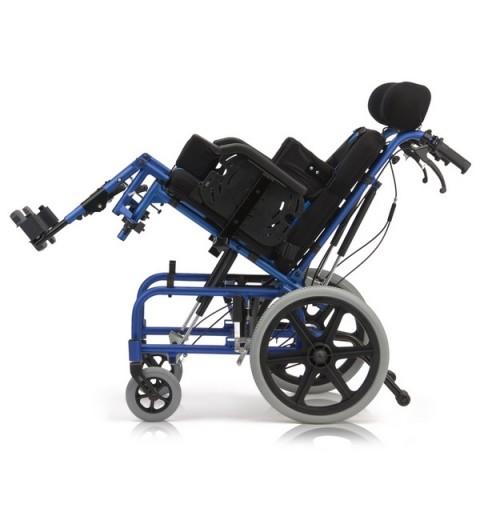 Carucior cu rotile multipozabil, transport pacienti adulti - FS958LBCGPY