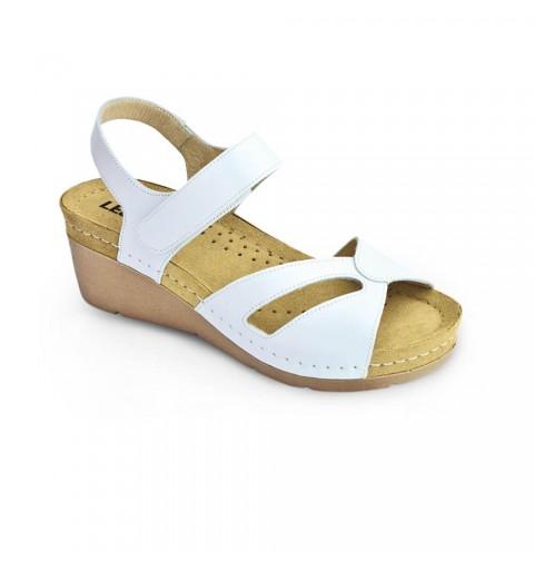 Sandale dama, din piele, de vara, Leon 1056