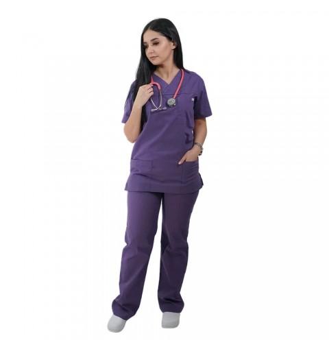 Costum medical Lotus 1, Basic 1, indigo