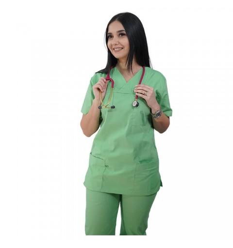 Costum medical Lotus 1, Basic 1, verde island