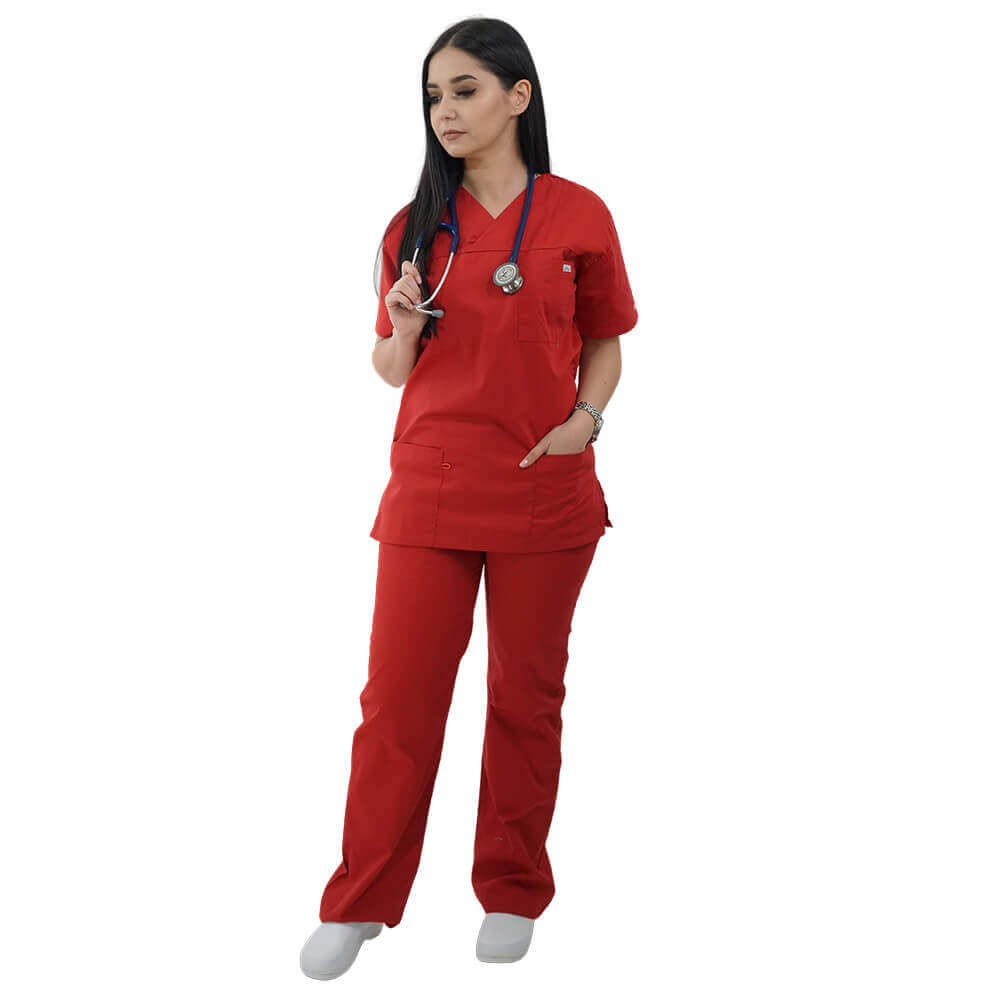 Costum medical Lotus 2, Basic 1, rosu