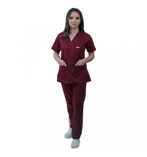 Costum medical Lotus 2, Basic 2, visiniu