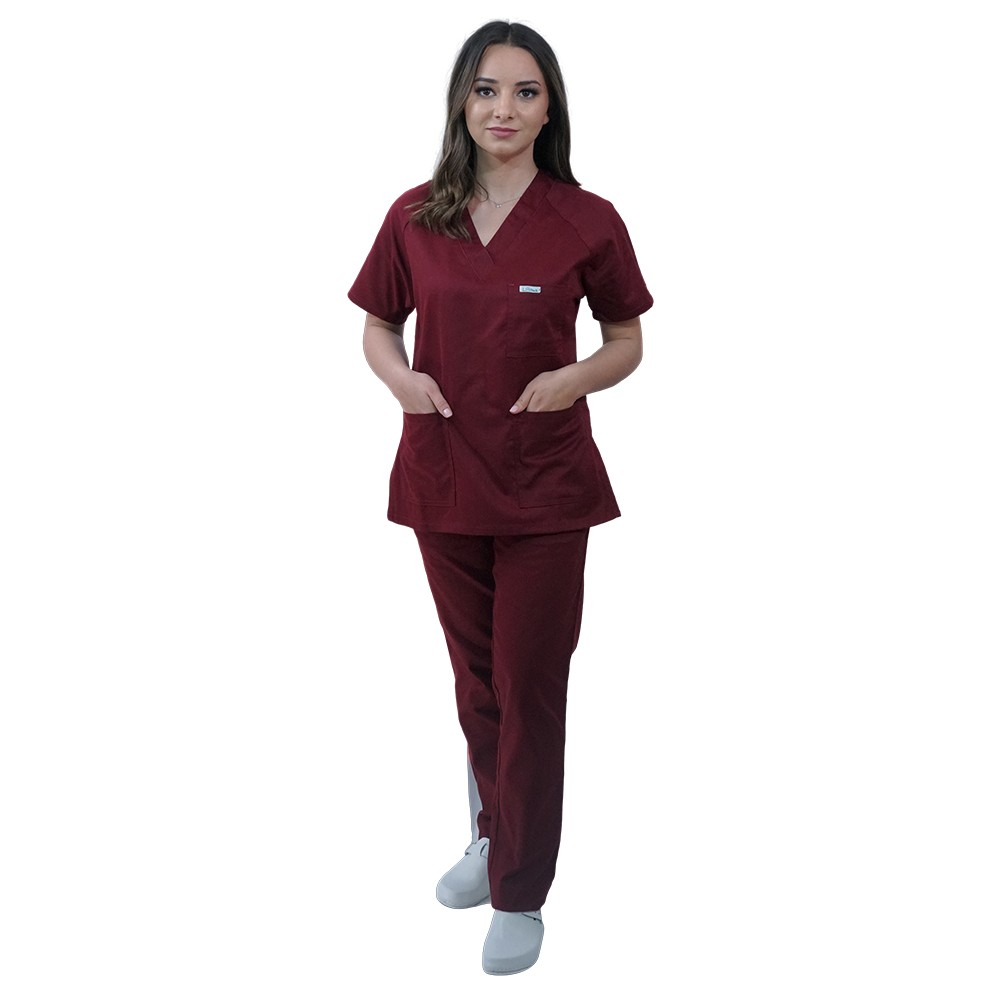 Costum medical Lotus 2, Basic 2, visiniu