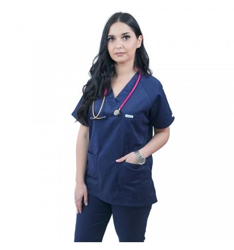 Costum medical Lotus 2, Basic 2, bleumarin