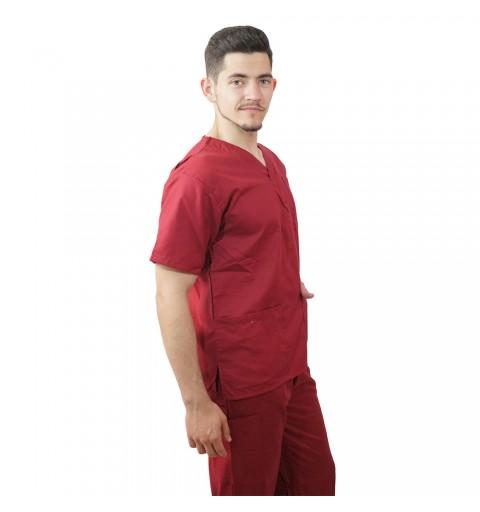 Costum medical Lotus 1, Basic 1, visiniu