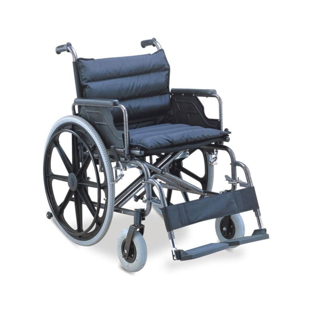Carucior cu rotile sesut extralarg, transport pacienti adulti - FS951B-51/56