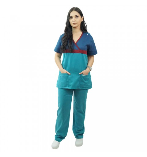 Costum medical Lotus 2, unisex 8074