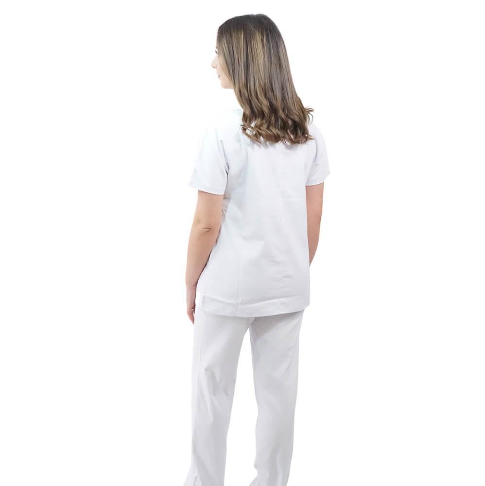 Costum medical Lotus 2, Basic 1, alb