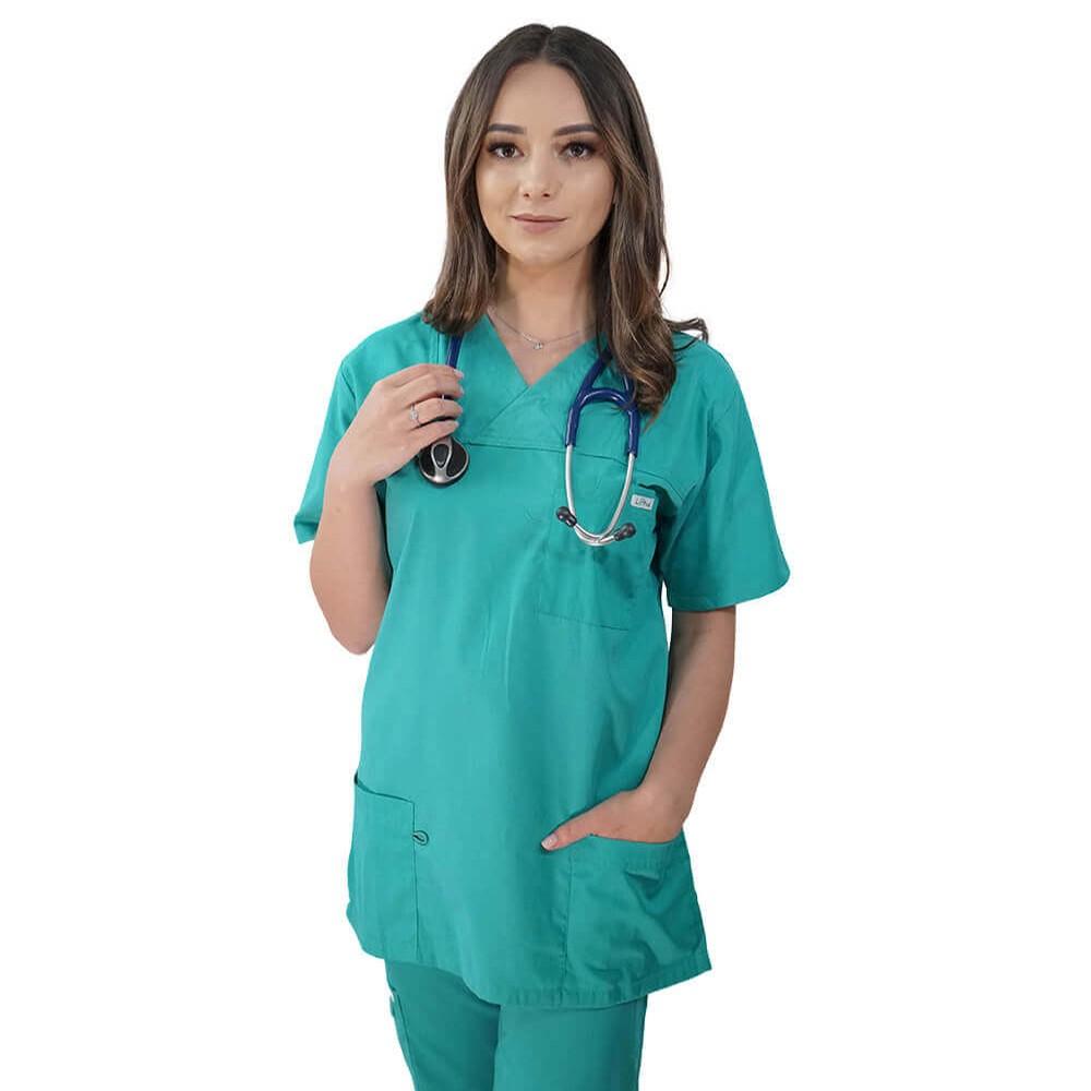 Costum medical Lotus 1, Basic 1, verde