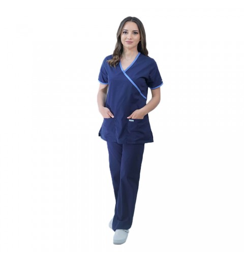 Costum medical Lotus 1, LK182 mock, marimi extra large