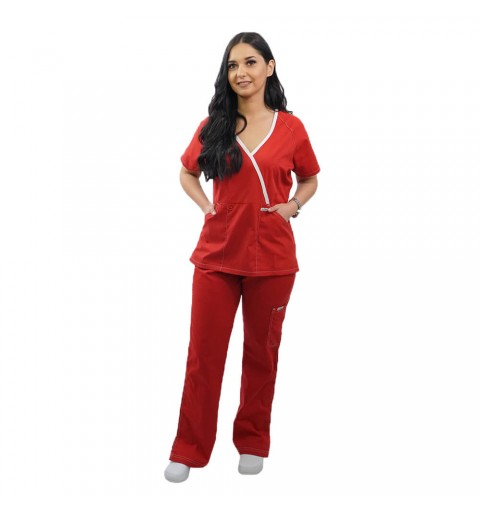 Costum medical Lotus 1, LK015, marimi extra large