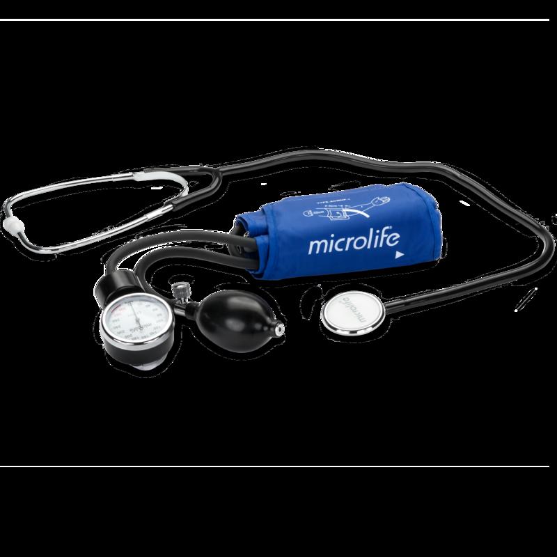 Tensiometru mecanic profesional cu stetoscop Microlife BP AG1-20